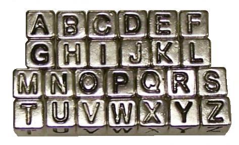 Alphabet Beads / Letter Beads